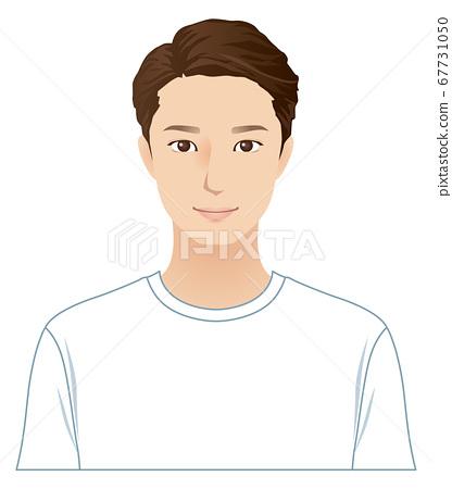 젊은 남성 스킨 케어 67731050