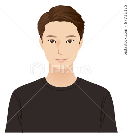 젊은 남성 스킨 케어 67731125