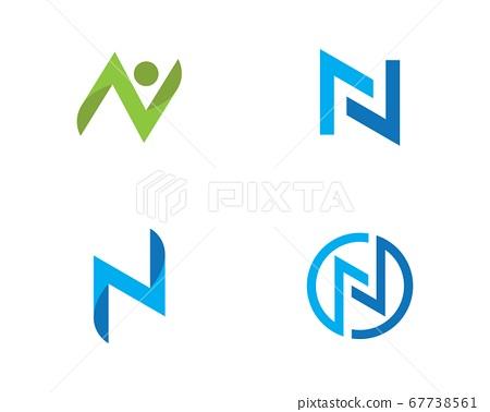 N Letter Logo Business 67738561