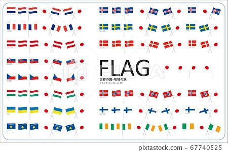 世界各國國旗(歐洲)01 67740525