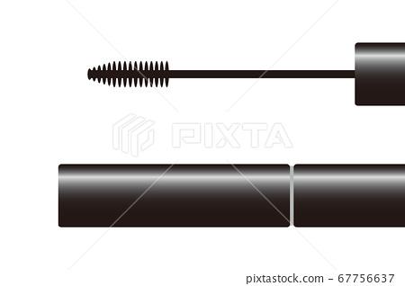 Close-up illustration of mascara 67756637