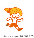 跑步的孩子 67769325