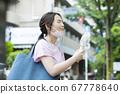 Mask summer woman 67778640