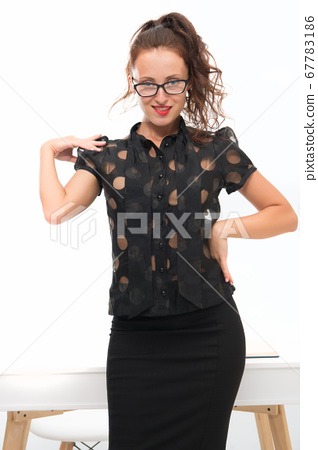 Smart in new sexy. Ambitious female in business 67783186