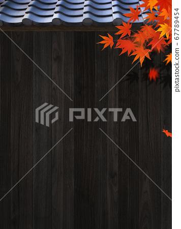 가을 일본을 이미지 한 배경 소재 67789454