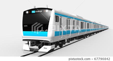 京濱東北線3DCG(各站右) 67790842