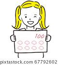 그린 1color 소녀 트윈 테일 100 점 67792602