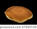 Dorayaki , Japanese traditional red-bean pancake 67800598