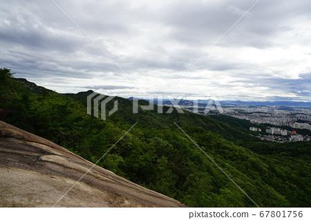 국립공원.북한산.보현봉.형제봉  67801756