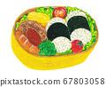 Illustration lunch 67803058
