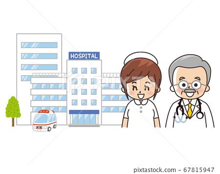 綜合醫院,醫生和護士 67815947