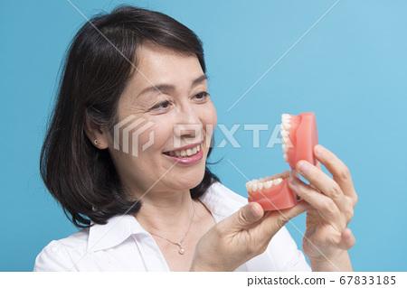 False teeth image 67833185