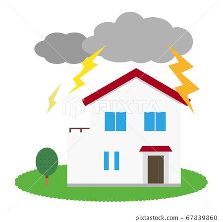 房屋雷聲 67839860