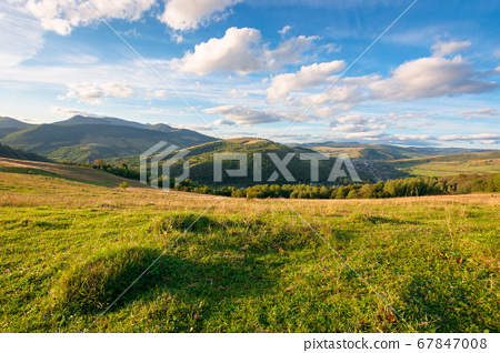 beautiful carpathian countryside. sunny afternoon. 67847008