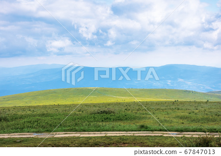 travel carpathian mountains in summer. road 67847013