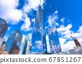 """""""뉴욕""""월드 트레이드 센터의 마천루 맨해튼 67851267"""