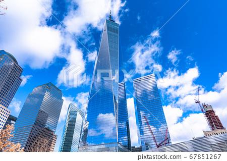 《紐約》世界貿易中心摩天大樓曼哈頓 67851267