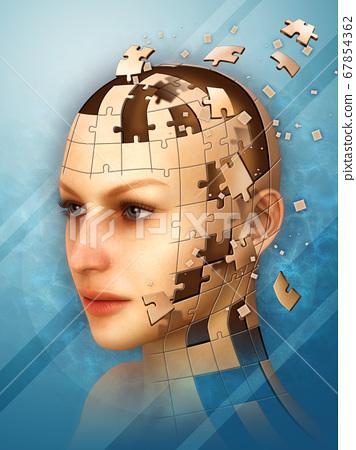 Identity puzzle 67854362