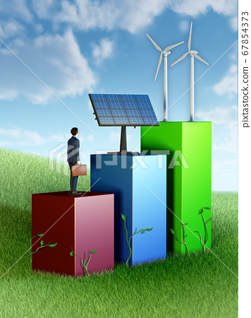 Green energy business 67854373
