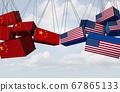 China USA Trade Concept 67865133