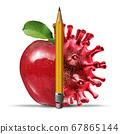 School And Coronavirus 67865144
