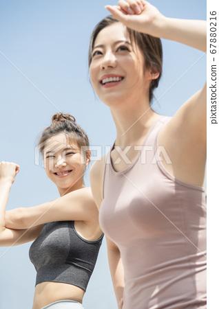 라이프스타일,여자,스포츠 67880216