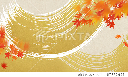 日本秋季背景 67882991