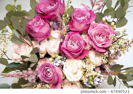 장미꽃송이 67890521