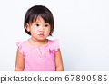 Asian little cute baby child girl 67890585