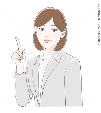 商业女性商界女强人 67900177