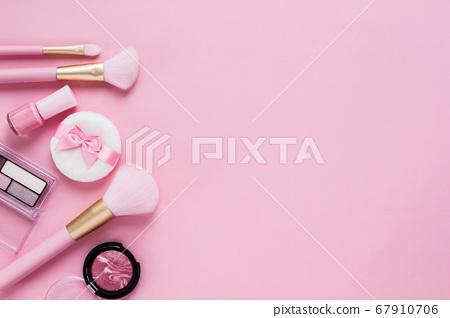 핑크 화장품 화장품의 이미지 소재 67910706