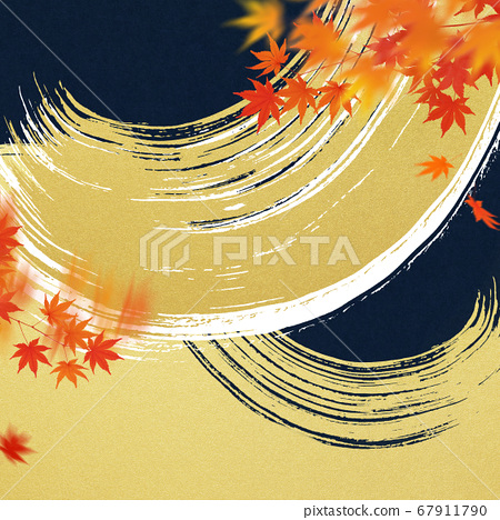 Material inspired by autumn in Japan 67911790