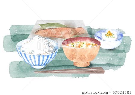 日式早餐早餐 67921503