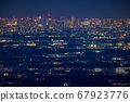 《東京》東京的夜景,超遠攝 67923776