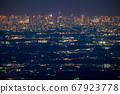 《東京》東京的夜景,超遠攝 67923778