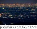 《東京》東京的夜景,超遠攝 67923779
