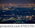 《東京》東京的夜景,超遠攝 67923781