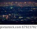 《東京》東京的夜景,超遠攝 67923782