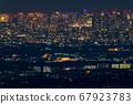 《東京》東京的夜景,超遠攝 67923783
