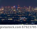 《東京》東京的夜景,超遠攝 67923785