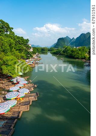 Yangshuo, China on the Li River 67931561