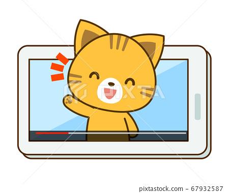 貓的Youtuber插圖 67932587