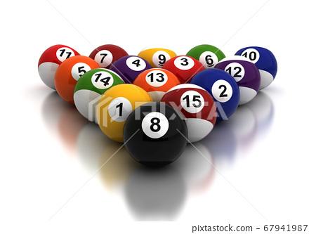 Billiards Balls 67941987