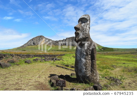 Moai statue of Easter Island 67945235