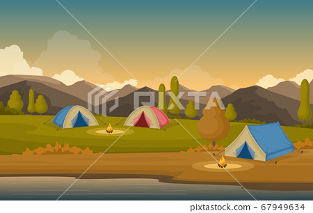 Camping Adventure Outdoor Park Mountain Nature 67949634