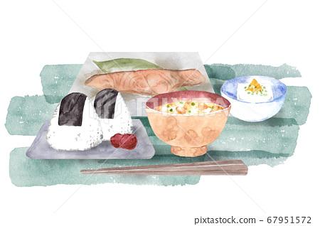 Japanese breakfast breakfast 67951572