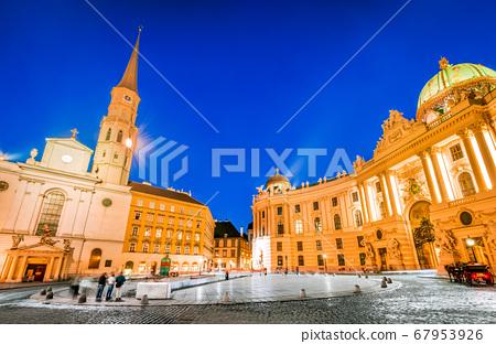 Vienna, Austria - Michaelerplatz 67953926