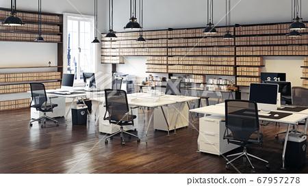 contemporary loft office 67957278