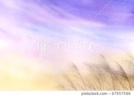 鈴木水彩在風中飄揚 67957566