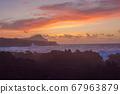 Lava stones on the beach of Piscinas Naturais Biscoitos. Atlantic Ocean. Terceira Azores, Portugal. 67963879